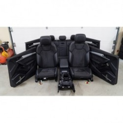 Seats leather set ALCANTARA...