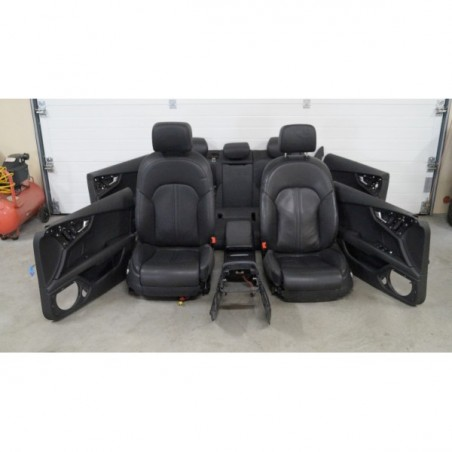 Bacon seats set leather...